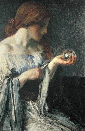 Robert Anning Bell - Image: Crystal ball anning bell