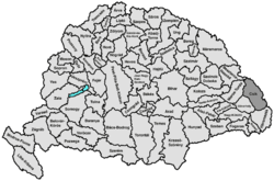 Location of Csík