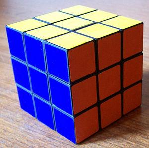 A Rubik's cube on my desk