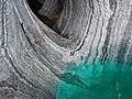 Cuevas de Mármol - Marble Caves, Blue Water, Patagonia, Chile.jpg
