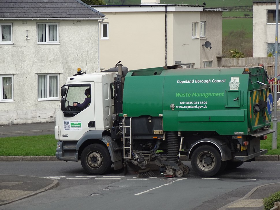 Cumbria street sweeper