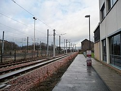 Cycleway alongside the tram lines (geograph 3838899).jpg