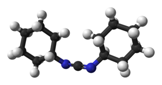 N,N'-Dicyclohexylcarbodiimide - Image: DCC 3D balls