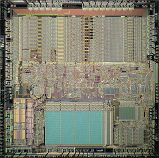 MicroVAX 78032 microprocessor