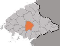 Vị trí tại tỉnh P'yŏng'an Bắc