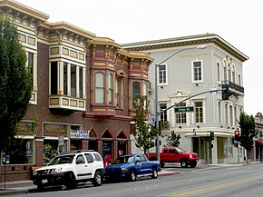 DSC00736 east side of San Benito Street at Fifth Street, Hollister, California, June 16, 2007.JPG