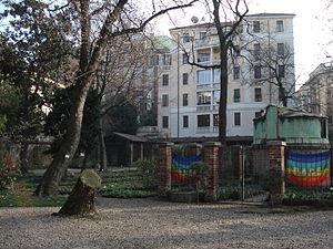 Orto Botanico di Brera - Orto Botanico di Brera in winter