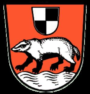 Dachsbach - Image: Dachsbach wappen