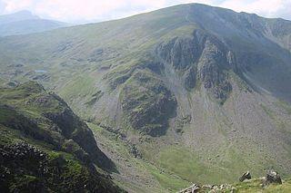 Dale Head mountain in United Kingdom