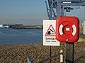 Danger and a partial remedy - geograph.org.uk - 591019.jpg