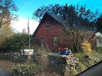 Daniel Aldrich Cottage and Sawmill - Image: Daniel Aldrich Cottage and Saw Mill, Uxbridge, MA