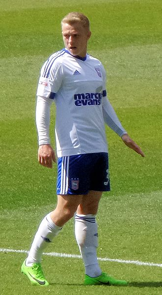 Danny Rowe (footballer, born 1992) - Danny Rowe playing for Ipswich Town in 2017