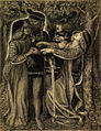 Dante Gabriel Rossetti - How They Met Themselves (1851-60).jpg
