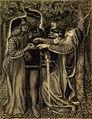 Dante Gabriel Rossetti - How They Met Themselves (1851-60).jpg