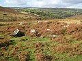 Dartmoor, Holne Moor Hut Circle - geograph.org.uk - 1015507.jpg