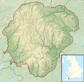 High Willhays is located in Dartmoor