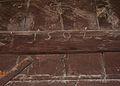 Data a la porta de l'església de sant Bertomeu de Xàbia.JPG