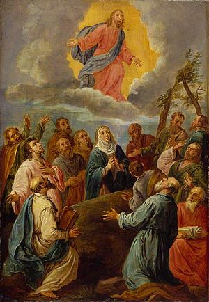 The Ascension (copy after Leandro Bassano)