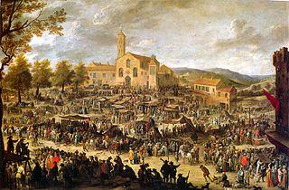 Annual Fair at Santa Maria Dell'Impruneta in Florence