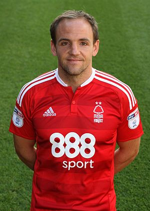 David Vaughan (footballer) - Vaughan in Nottingham Forest kit, 2016