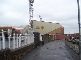 Davie Cooper - The Davie Cooper Stand at Fir Park.