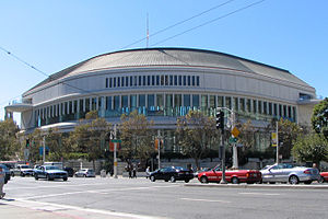 San Francisco War Memorial and Performing Arts Center - Louise M. Davies Symphony Hall, venue in the SFWMPAC.