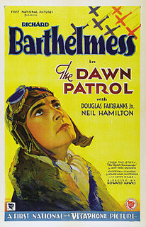 <i>The Dawn Patrol</i> (1930 film) 1930 film by Howard Hawks