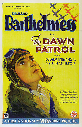 The Dawn Patrol (1930 film) - Theatrical release poster