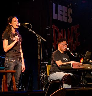 Debs and Errol - Image: Debs & Errol Perform at Lee's Palace