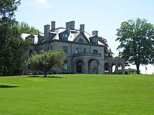 Luther Kountze's mansion lies in the center of the Delbarton campus