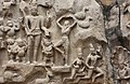 Descent of the Ganges, Pallava period, 7th century, Mahabalipuram (29) (37425542196).jpg