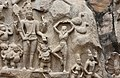 Descent of the Ganges, Pallava period, 7th century, Mahabalipuram (32) (37472890771).jpg