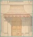 Design for an awning over a door, in Moorish style MET DP811576.jpg
