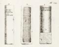 Dessin des milliaires de Bruère-Allichamps (1759).png