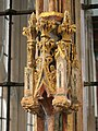 Detail, rood screen St Mary's, Totnes - geograph.org.uk - 922423.jpg