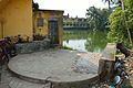 Dhirbala Addy Memorial Women Bathing Ghat - Melai Pond - Amta Bazaar - Amta - Howrah 2015-11-15 7053.JPG