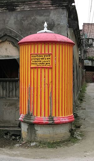 "Water supply and sanitation in Bangladesh - Water cistern called ""dhopkol"", specific to Rajshahi"