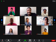 A screenshot of the Digify Africa edit workshop and writing competition
