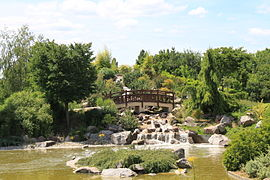 Jardin japonais de dijon wikip dia - Terrasse bois jardin japonais marseille ...