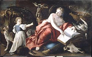 Domenico Guidobono - An Allegory