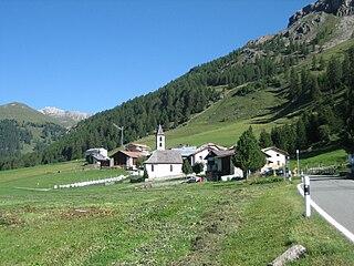 Lü, Switzerland Former municipality of Switzerland in Graubünden