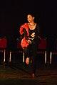 Dorothy Bhattacharya Dancing With Rabindra Sangeet - Sriniketan - Birbhum - 2017-10-21 5175.JPG