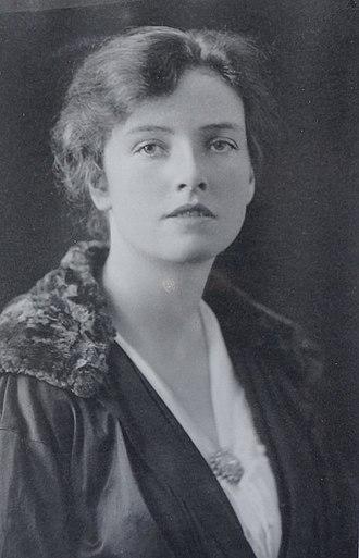 Dorothy Pilley Richards - Dorothy Pilley - Secretary of the British Women's Patriotic League, c.1922