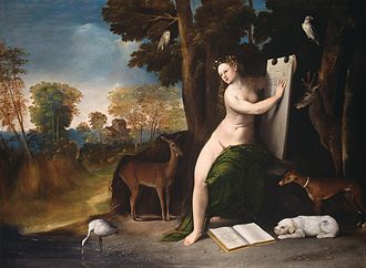 Dosso Dossi - Circe and her Lovers in a Landscape,  at the National Gallery of Art, Washington, D.C.