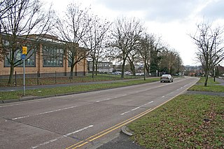 City of Leicester College Community school in Evington, Leicester, Leicestershire, England
