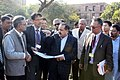 Dr. Jitendra Singh inspecting the site for the proposed hostel for north-eastern students in Jawaharlal Nehru University campus.jpg