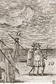 Drabanter och härolder i Karl X Gustavs begravningtåg, 1660-talet - Livrustkammaren - 108758.tif