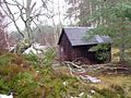 Drake's Bothy in Inshriach Forest - geograph-1699654.jpg
