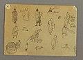 Drawing, Figure Studies with Dogs, Egypt, 1868 (CH 18197649).jpg