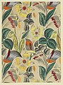 Drawing, Textile Design- Tropical Flowers, 1912–13 (CH 18805389-2).jpg